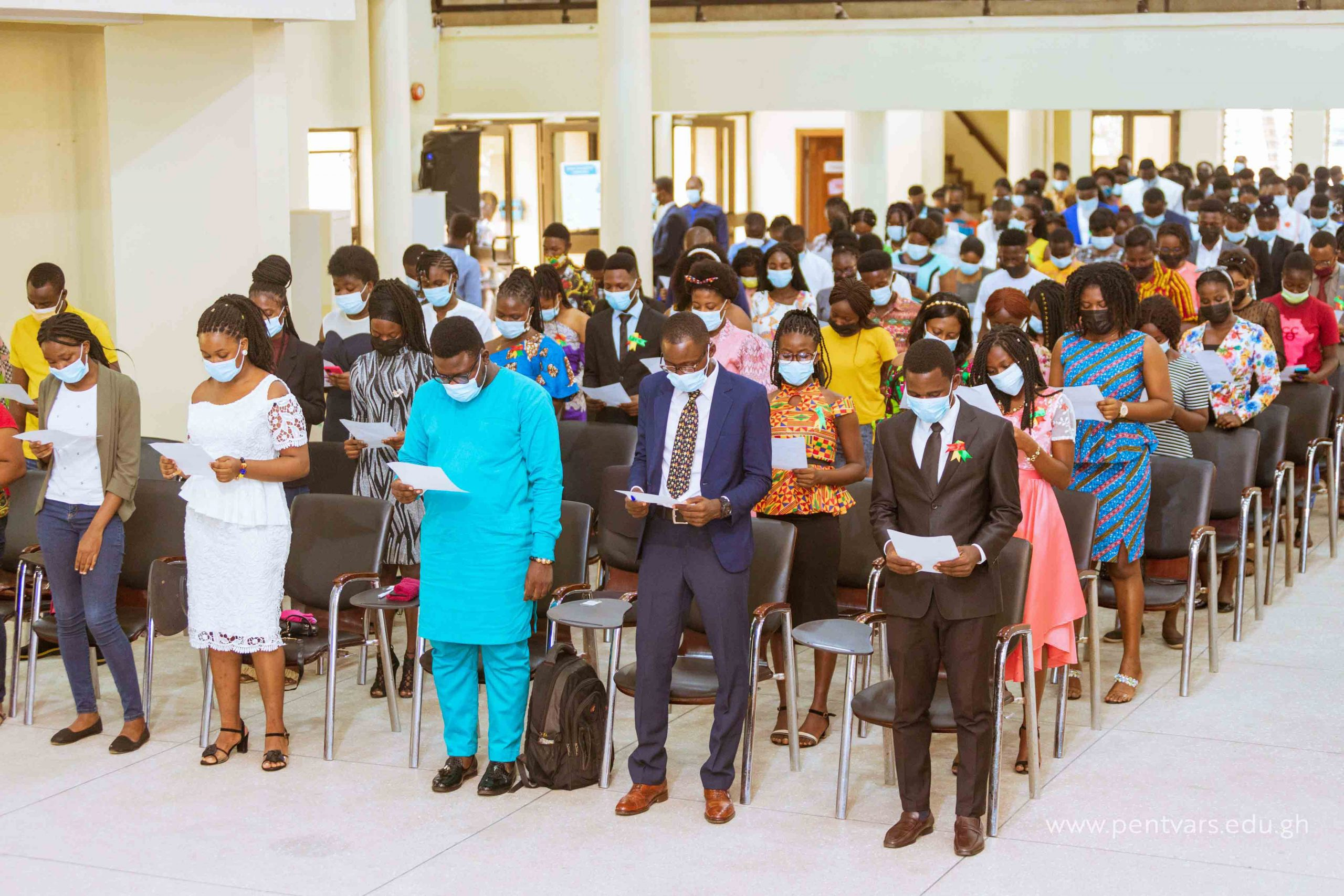 Pentecost University Holds Matriculation for 2020/21 Fresh Students