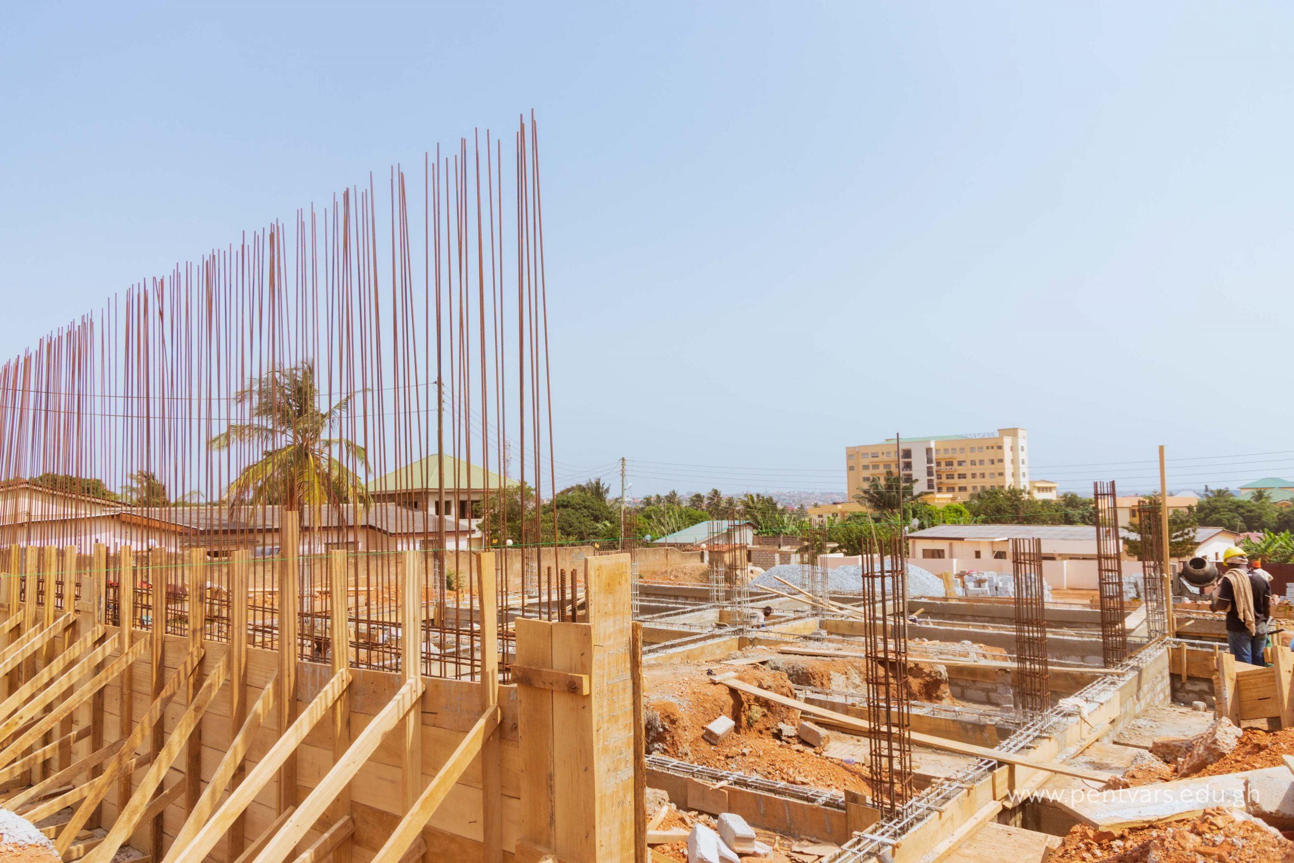 Work on Multipurpose Storey Building Progresses Steadily at Accra Campus