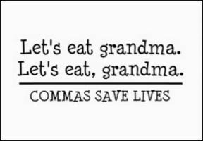 Resultado de imagen para use of commas