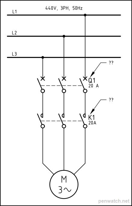Circuit Breaker Abbreviations : circuit, breaker, abbreviations, Designations;, Relays, Called, Schematics?, Circuit, Breakers, 'Q'?