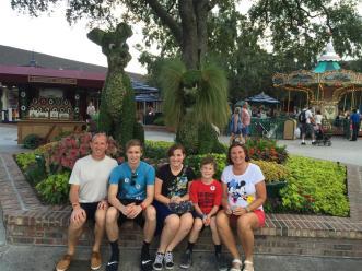 Disneyfamilyphoto