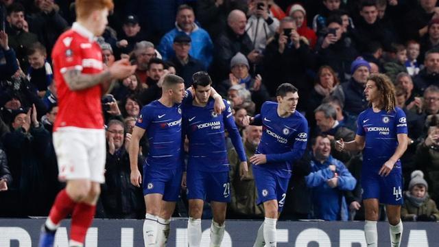 Pertandingan Chelsea Vs Nottingham Forest Skor 2-0