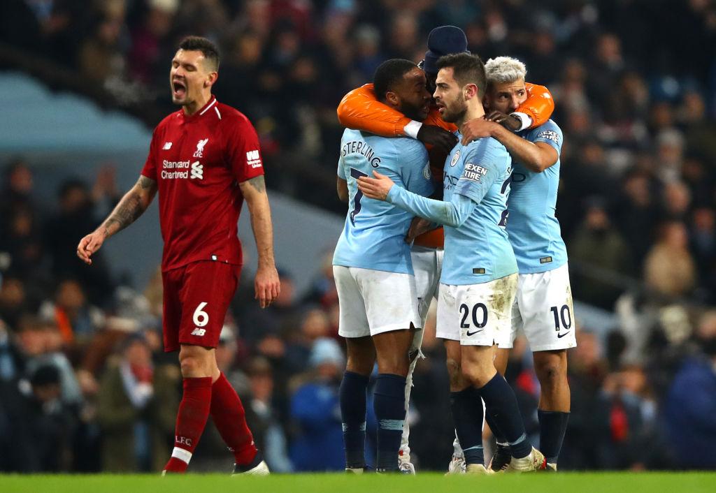 Pertandingan Manchester City vs Liverpool Skor 2-1