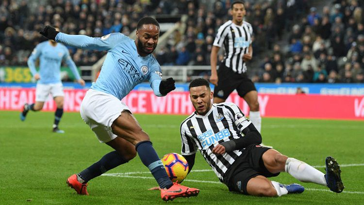 Hasil Pertandingan Newcastle United Vs Manchester City Skor 2-1