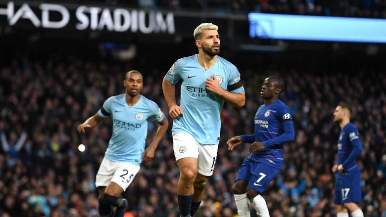 Hasil pertandingan Manchester City Vs Chelsea Skor 6-0