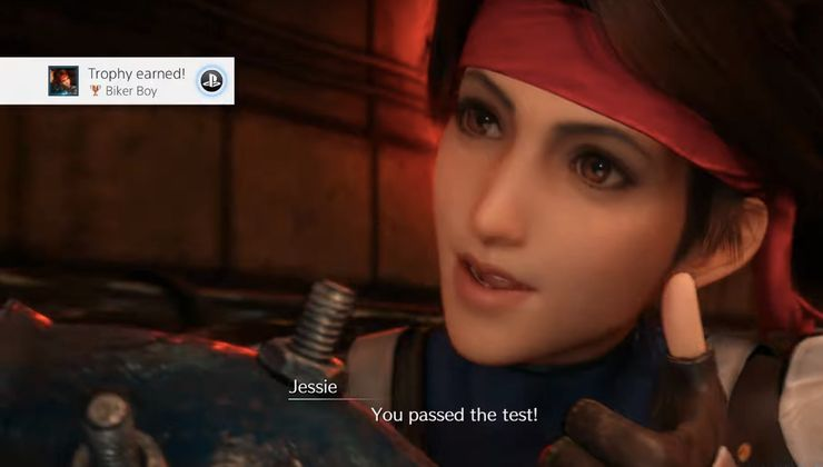 Bagaimana Mendapatkan Pujian Dari Jessi Dalam Motorcycle Mini-Game Final Fantasy 7 Remake