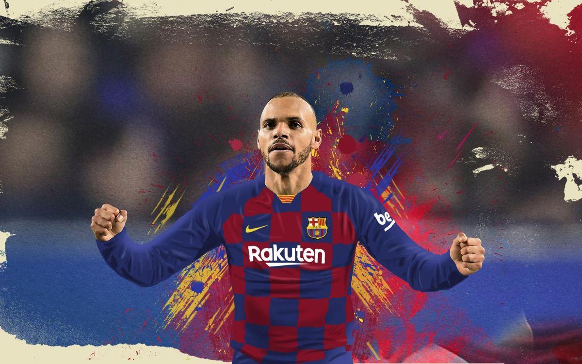 Braihtwaite Tidak Ingin Meninggalkan Tim Barcelona