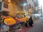 penjual buah dekat hotel