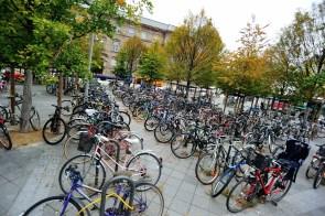 Привокзальная парковка в Страсбурге