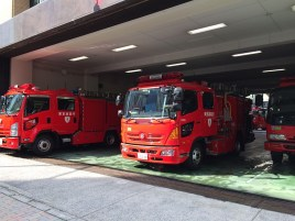 Японские пожарные машины.