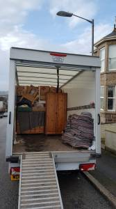 Penzance removals in this van