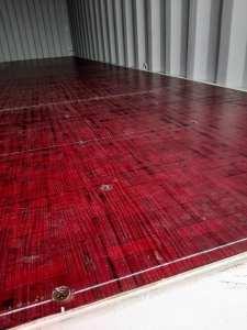 New container interior in Penzance