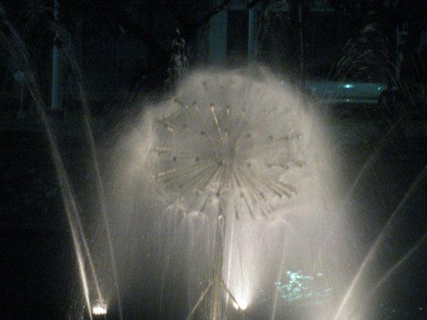 décoration des douves en lumière