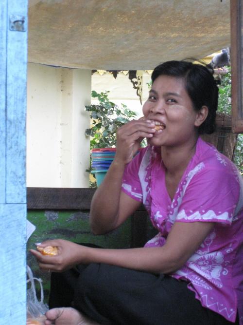 La belle Birmane