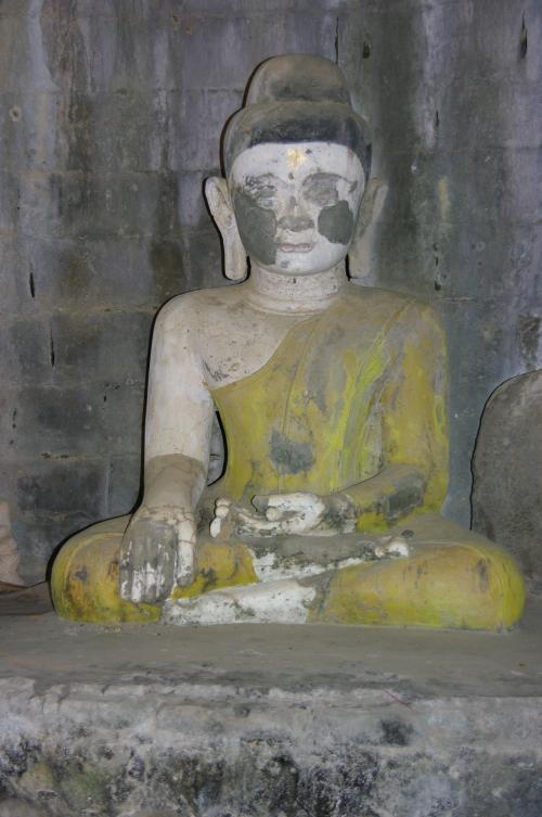 bouddha vêtu