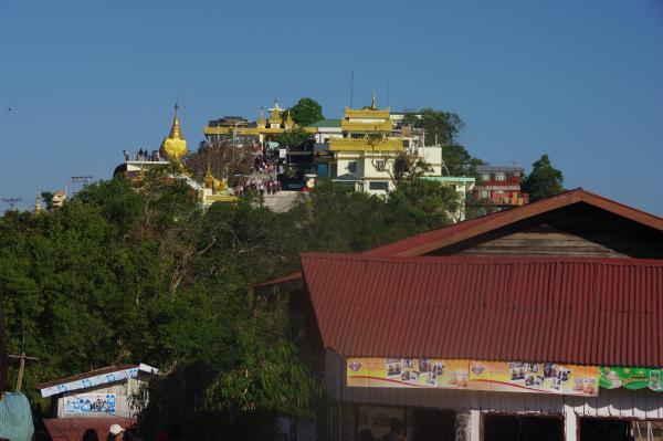 vue du complexe du temple