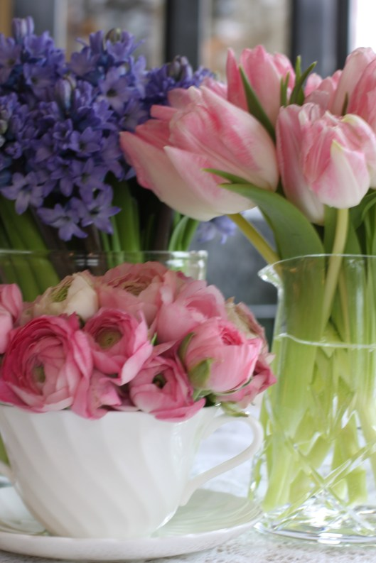 Hyacinths, Tulips & Anemones