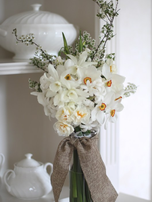White Narcissi Posy