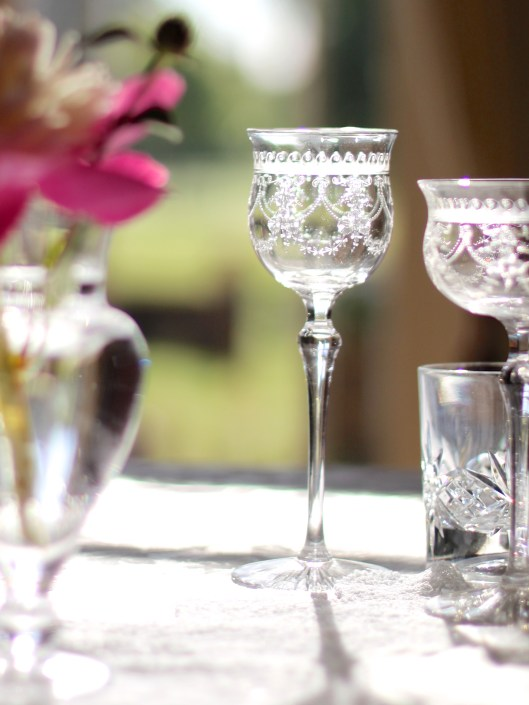 Edwardian Wine Glass