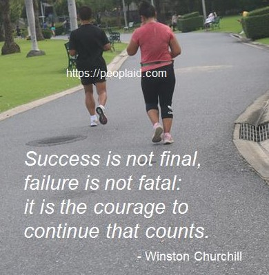 10 Success is not final
