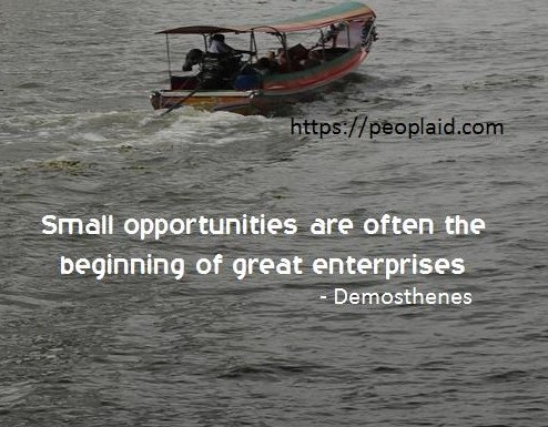 Small Opportunities
