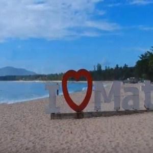 Dahican Beach in Mati City