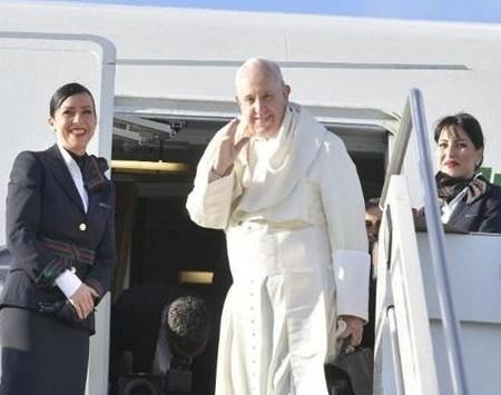 Pope Francis Arrives in Panama