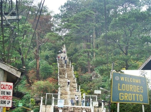 Lourdes Grotto in Baguio
