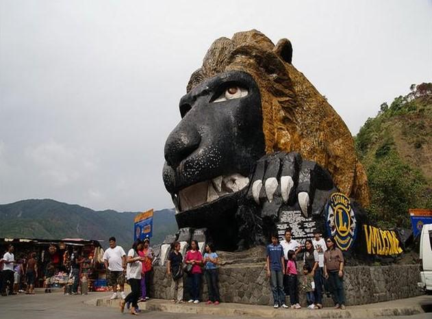 Lion's Head along Kennon Road