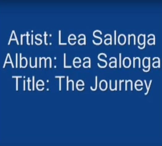 The Journey by Lea Salonga