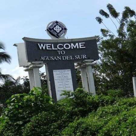 Agusan Del Sur Welcome Sign