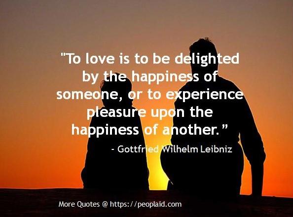 Quotes from Gottfried Wilhelm Leibniz