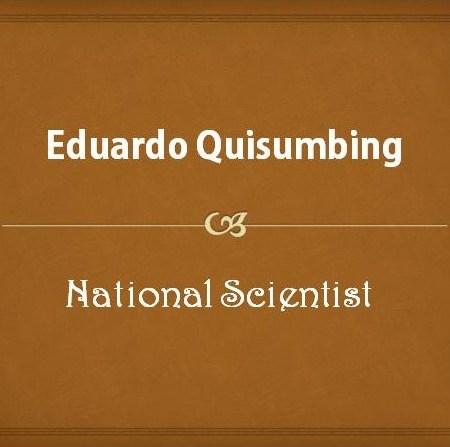 Eduardo Quisumbing