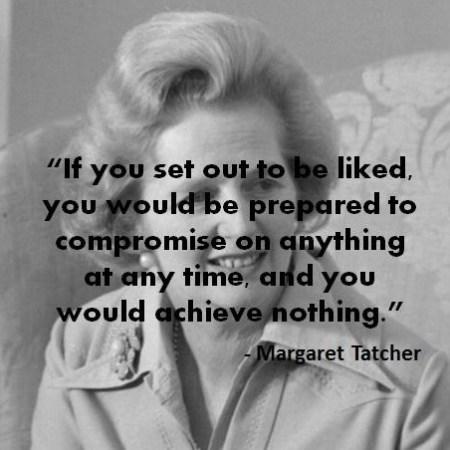 Margaret Tatcher Quotes