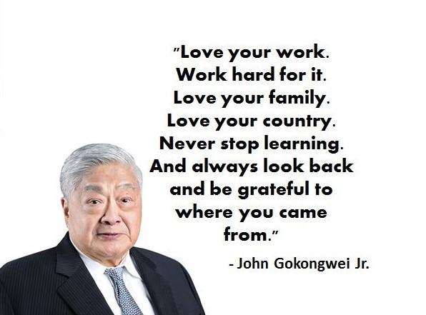 John Gokongwei Jr Quote