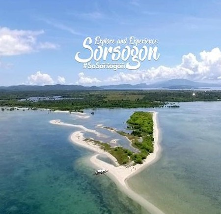 Panumbagan Sand Bar in Pilar Sorsogon