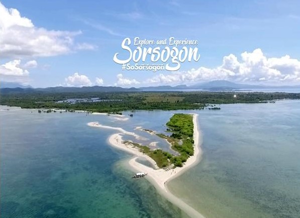 Panumbagan Sand Bar in Pilar Sorsogon