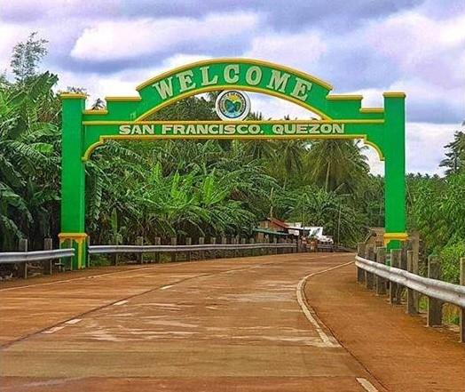 San Francisco Quezon Welcome Arch