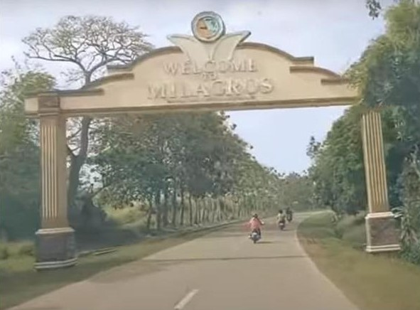 Welcome Arch of Milagros in Masbate