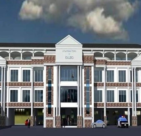 Soon to Rise Kalibo Municipal Hall
