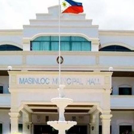 Municipal Hall of Masinloc in Zambales