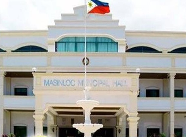 Municipal Hall of Masinloc in Zambales