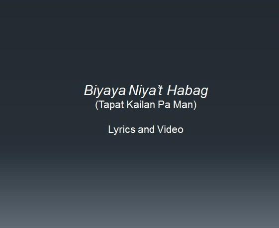 Biyaya Niya't Habag