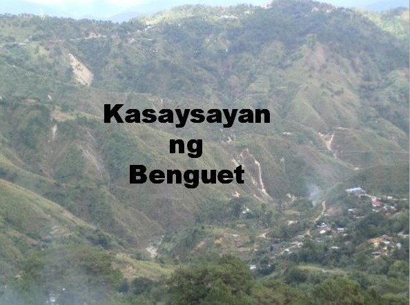Benguet History in Tagalog