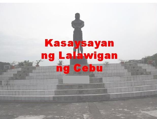 Cebu Province History in Tagalog