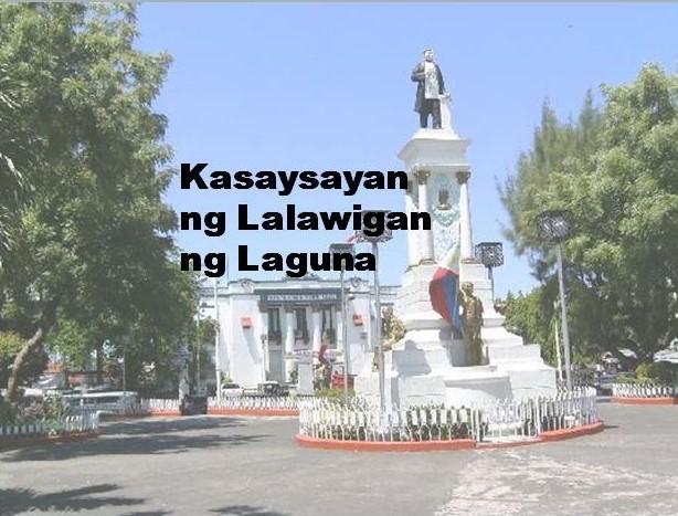 Laguna Province History in Tagalog