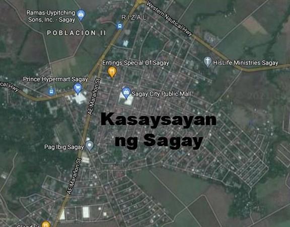 Sagay City History in Tagalog