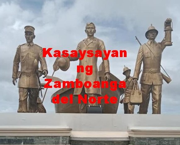 Zamboanga Del Norte History in Tagalog