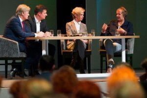 Talkshow tijdens Landelijk Congres Clientenraden met staatssecretaris Van Rijn