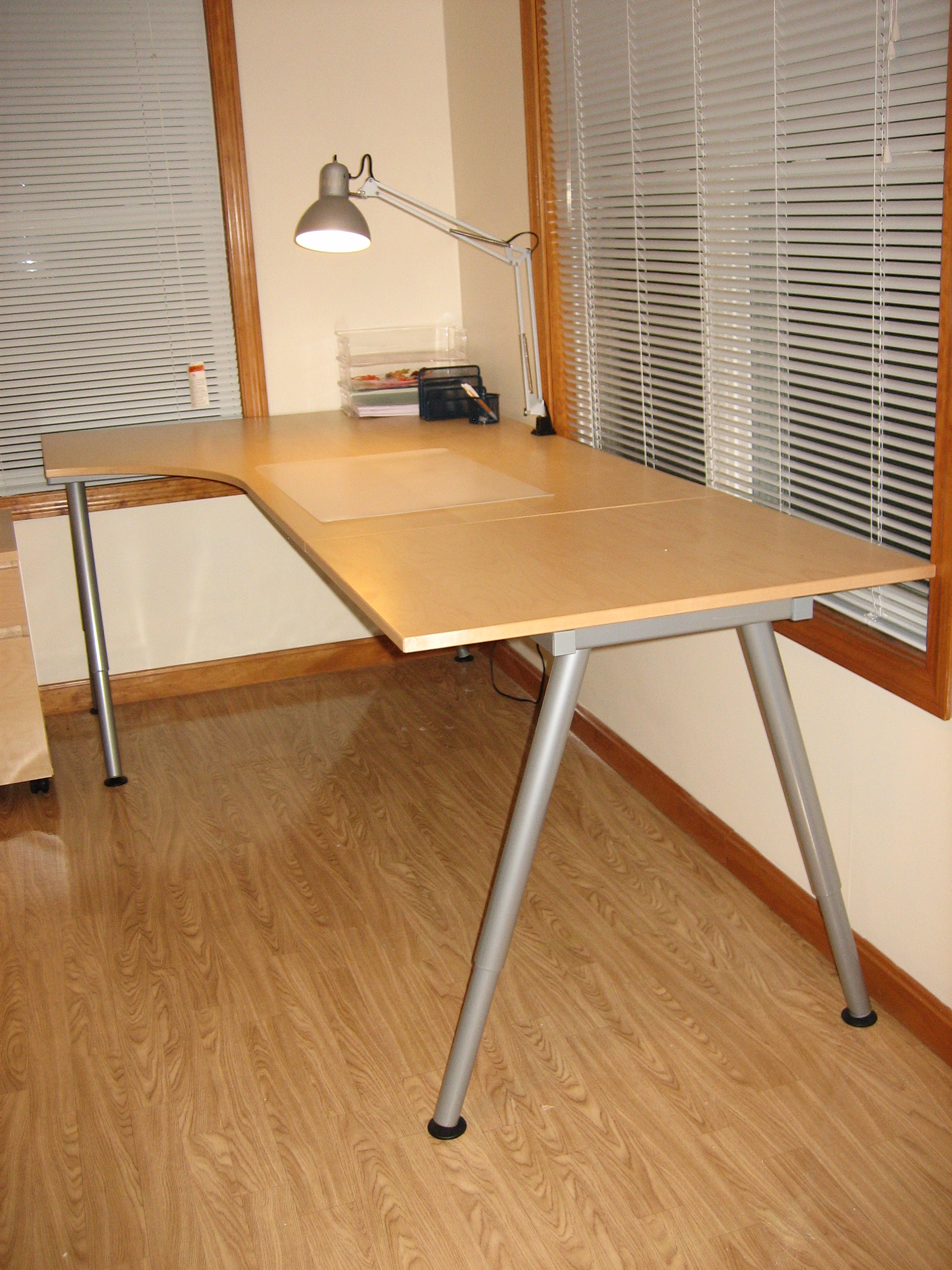 Ikea Galant Office Desk Combination